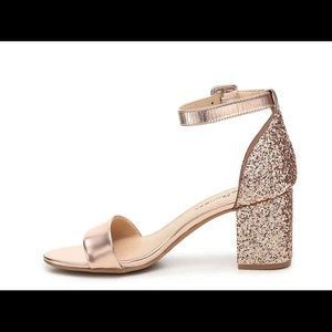 "2abed0f5c7e3 Chinese Laundry Shoes - Chinese Laundry ""Jody"" Rose Gold Block Heels"